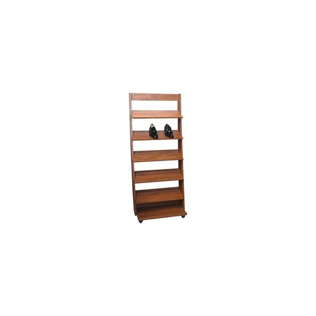 presentoir bois 75cm couleur fonc. Black Bedroom Furniture Sets. Home Design Ideas