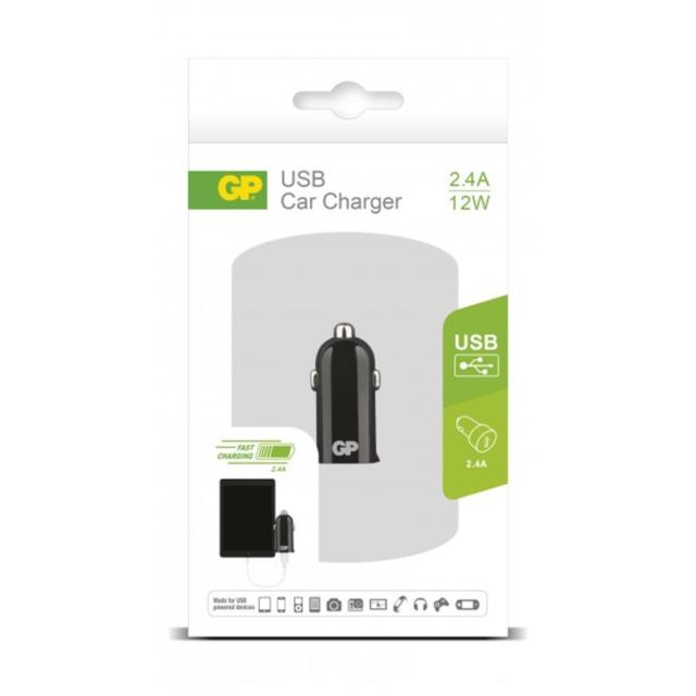 ADAPTATEUR ALLUME CIGARE USB 1PORT 2.4A   405071