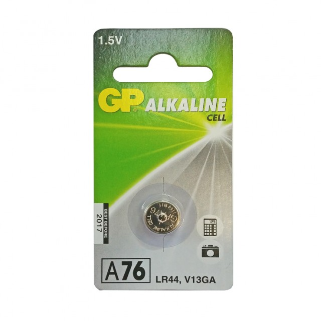 PILES ALCALINES SPECIALES A76/LR44/V13GA*10 blisters   102002