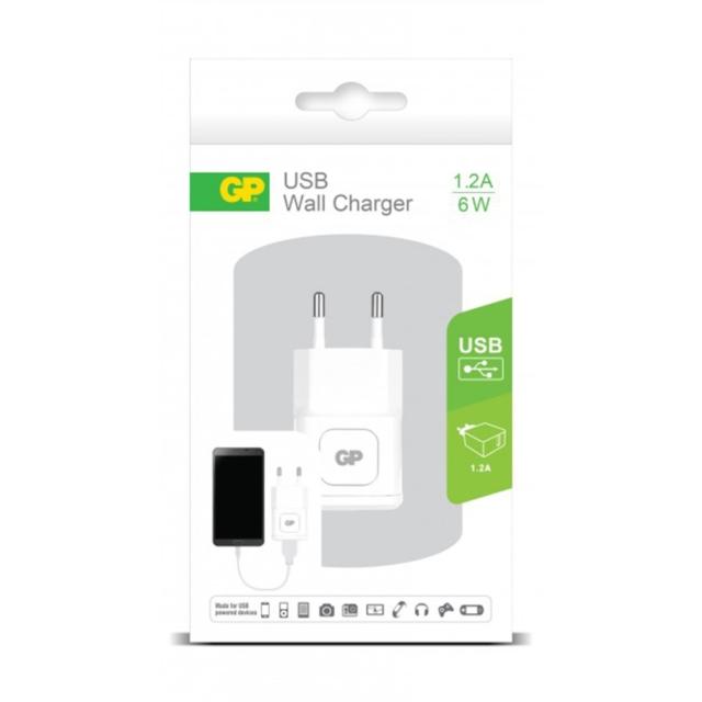 CHARGEUR USB SECTEUR 1PORT 1.2A   405068