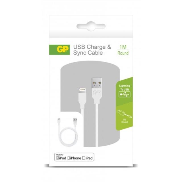 CABLE USB APPLE LIGHTNING 1M CB13   405074