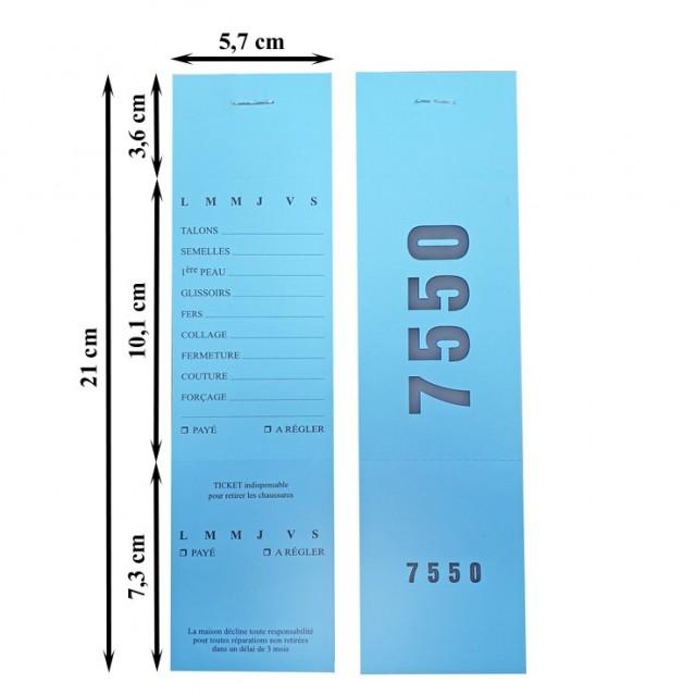 TICKET CORD. GRAND CHIFFRAGE / 1000